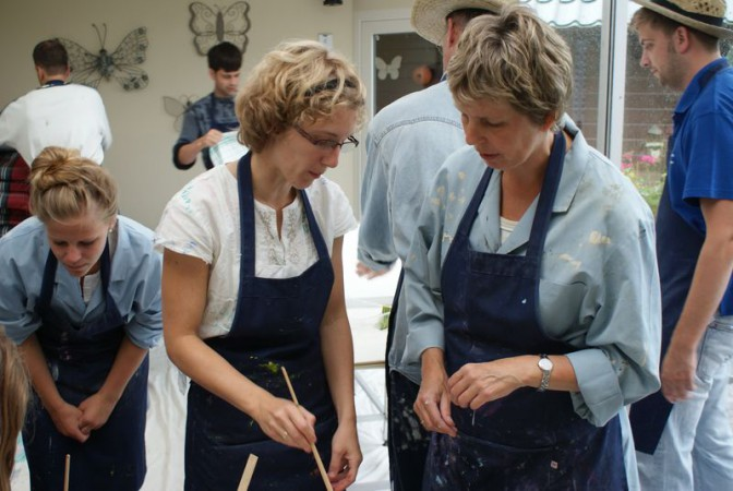 Workshop familie Jansen - Davitha 2014